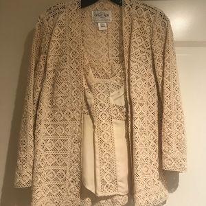 Oscar de la Renta blouse and camisole